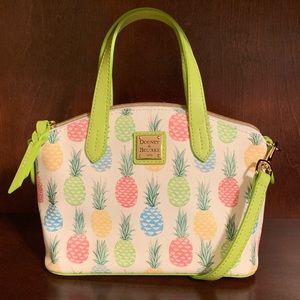 Dooney & Bourke Tiki Pineapple Mini Ruby Crossbody